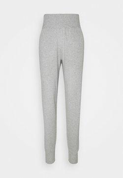 Anna Field - SLIM FIT HIGH WAIST JOGGER - Jogginghose - mottled light grey