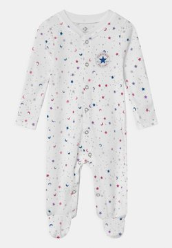 Converse - FOOTED COVERALL RUFFLE FOOT - Pyjama - white
