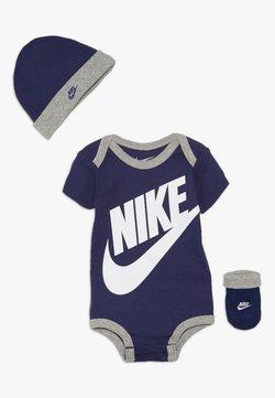Nike Sportswear - FUTURA LOGO HAT BOOTIE BABY SET - Body - blue void
