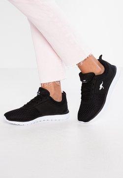 KangaROOS - BUMPY - Sneakers laag - jet black