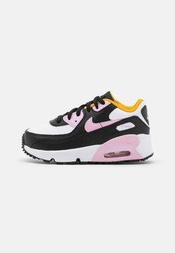 Nike Sportswear - Air Max 90  - Sneakersy niskie - black/light arctic pink/white/dark sulfur