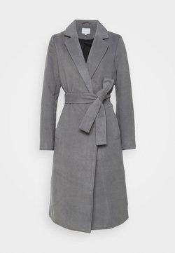 Vila - VIPOKU COAT - Classic coat - medium grey melange