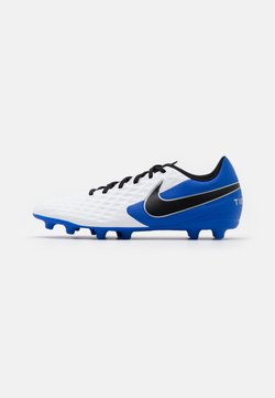 Nike Performance - TIEMPO LEGEND 8 CLUB FG/MG - Fußballschuh Nocken - white/black/hyper royal/metallic silver