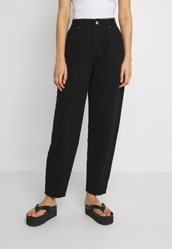 Cotton On - SLOUCH MOM - Jeans relaxed fit - black