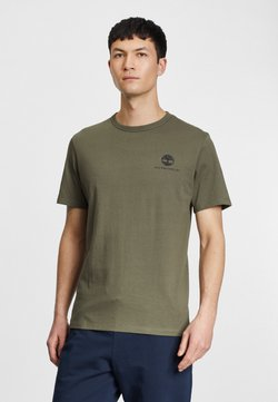 Timberland - ARCHIVE BACK WWES - T-Shirt basic - grape leaf