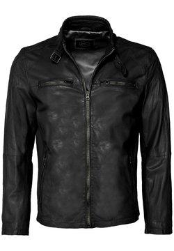 JCC - MIT SCHNALLE - Leren jas - black