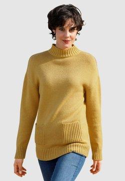 Dress In - Strickpullover - gelb