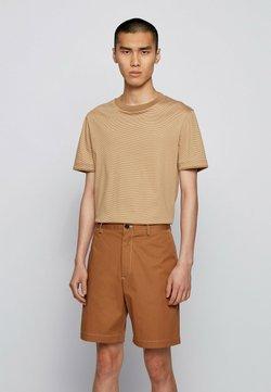 BOSS - T-Shirt print - beige