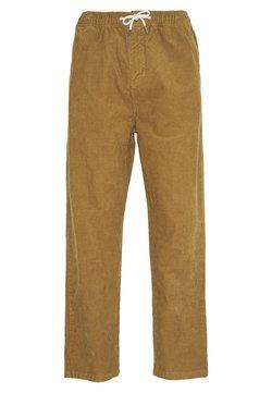 Quiksilver - BIAK - Pantaloni - dull gold