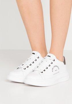 KARL LAGERFELD - KAPRI MAISON LACE - Sneaker low - white/silver