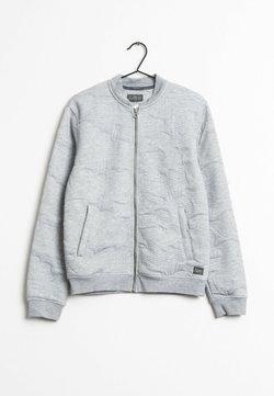 Jack & Jones - veste en sweat zippée - grey