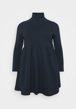 Simply Be - SMOCK DRESS - Freizeitkleid - navy