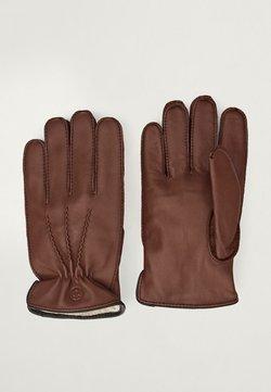 Massimo Dutti - Gloves - brown