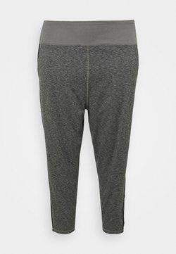 Puma - STUDIO PLUS SIZE - Pantalones deportivos - charcoal gray heather