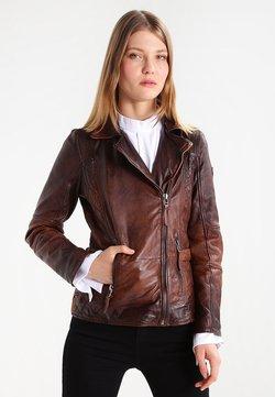 Gipsy - ADVANCE LATEOV - Leren jas - vintage brown