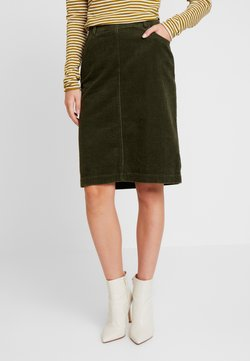 Marc O'Polo - SKIRT PENCIL STYLE - Bleistiftrock - farmland green