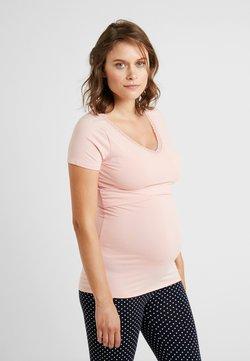 Noppies - NURS FLOOR SOLID - Pyjamasöverdel - silver pink