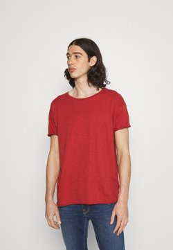 Nudie Jeans - ROGER - T-shirt basic - poppy red