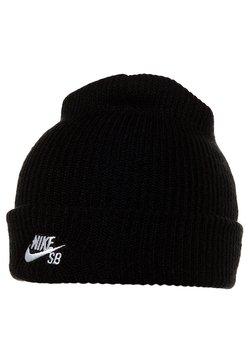 Nike SB - FISHERMAN - Gorro - black/white