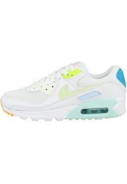 Nike Sportswear - AIR MAX 90 - Sneaker low - white-barely volt-aurora green-volt