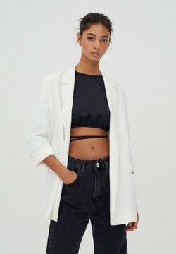 PULL&BEAR - Manteau court - white