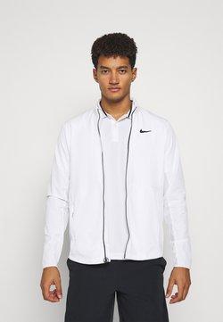 Nike Performance - Träningsjacka - white/black