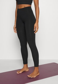 Monki - SPORT LEGGINGS - Tights - black dark