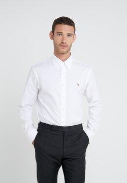 Polo Ralph Lauren - EASYCARE PINPOINT OXFORD CUSTOM FIT - Koszula - white