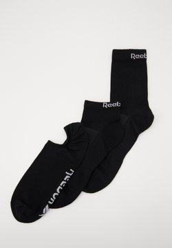 Reebok - ALL PURPOSE SOCK 3 PACK - Urheilusukat - black