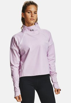 Under Armour - RUSH - Funktionsshirt - crystal lilac