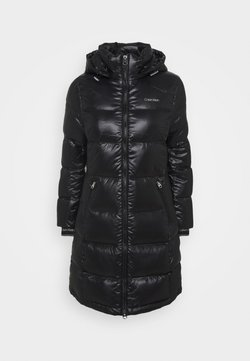 Calvin Klein - LOFTY LONG COAT - Daunenmantel - black