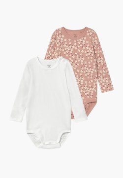 Lindex - FLOWERS AND CREAM 2 PACK - Body - dusty pink