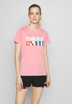 Rukka - RUKKA VATKIVI - T-Shirt print - light pink