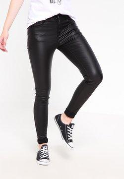 Vila - VICOMMIT  - Jeans Skinny Fit - black