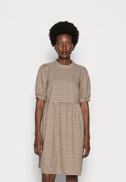 Love Copenhagen - CULLA DRESS - Freizeitkleid - brown check