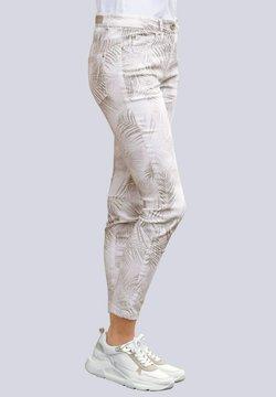 Alba Moda - Jeans Slim Fit - haselnuss,braun,weiß