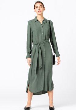HALLHUBER - Blusenkleid - seegrün