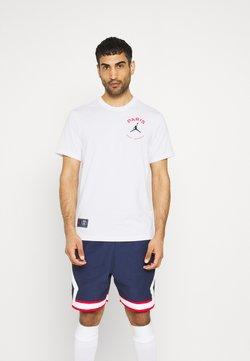 Nike Performance - PARIS ST. GERMAIN LOGO TEE - Vereinsmannschaften - white