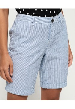 Superdry - Shorts - seersucker blue