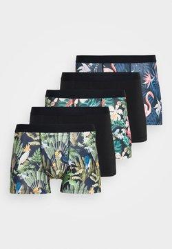 Pier One - 5 PACK - Panties - black/dark blue