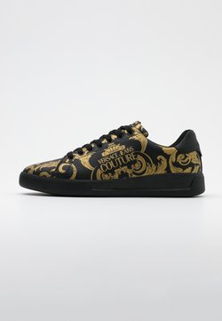 Versace Jeans Couture - Baskets basses - black/gold