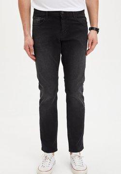 DeFacto - Straight leg jeans - black