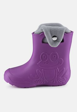 Ladeheid - Botas de agua - purple/grey