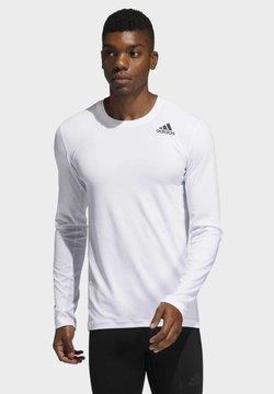 adidas Performance - Langarmshirt - white
