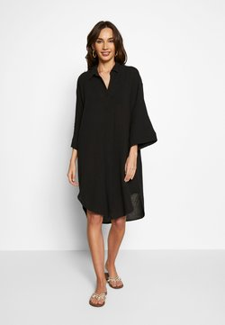 Seafolly - BEACH EDIT OVERSIZE BEACH COVER UP - Beach accessory - black