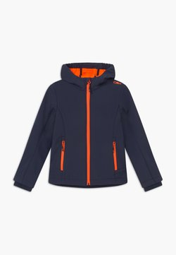 CMP - GIRL FIX HOOD - Softshelljacke - blue/orange