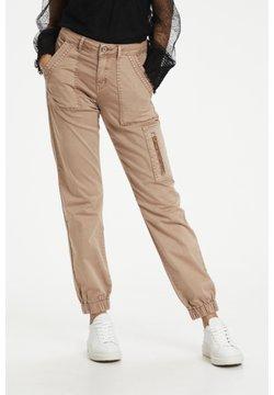 Cream - Slim fit jeans - cognac