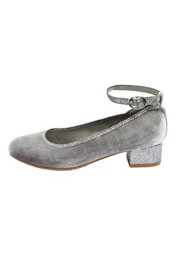 Next - MARY JANE HEELS (OLDER) - Ballerinat nilkkaremmillä - grey