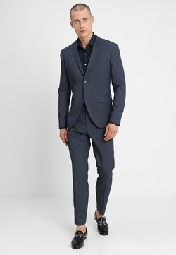 Isaac Dewhirst - FASHION STRUCTURE SUIT SLIM FIT - Anzug - blue