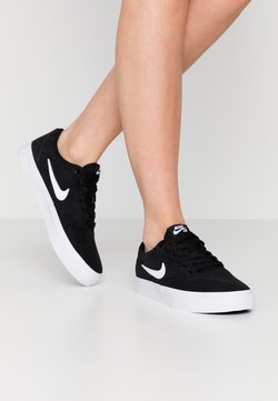 Nike SB - CHARGE - Sneaker low - black/white